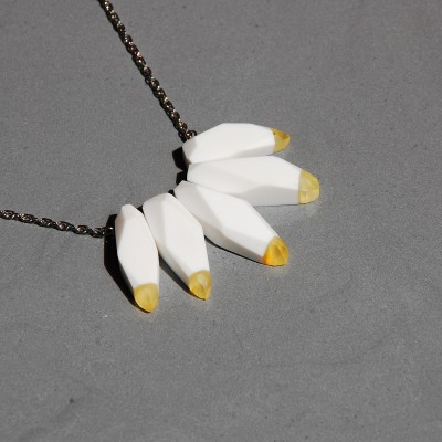 Necklace With Lemon Amber