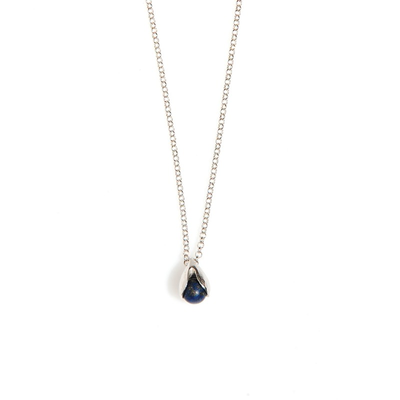 naszyjnik KONWALIA  z lapis lazuli