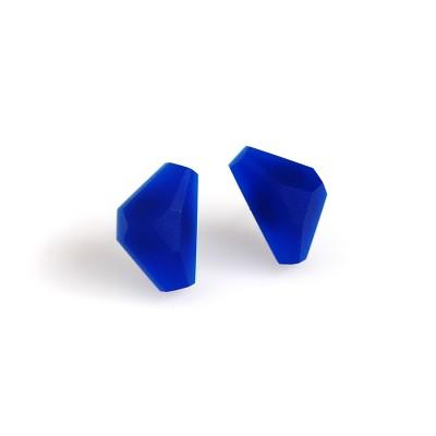 kolczyki małe trójkąty