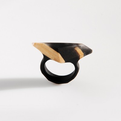 Ring With Linden Wood