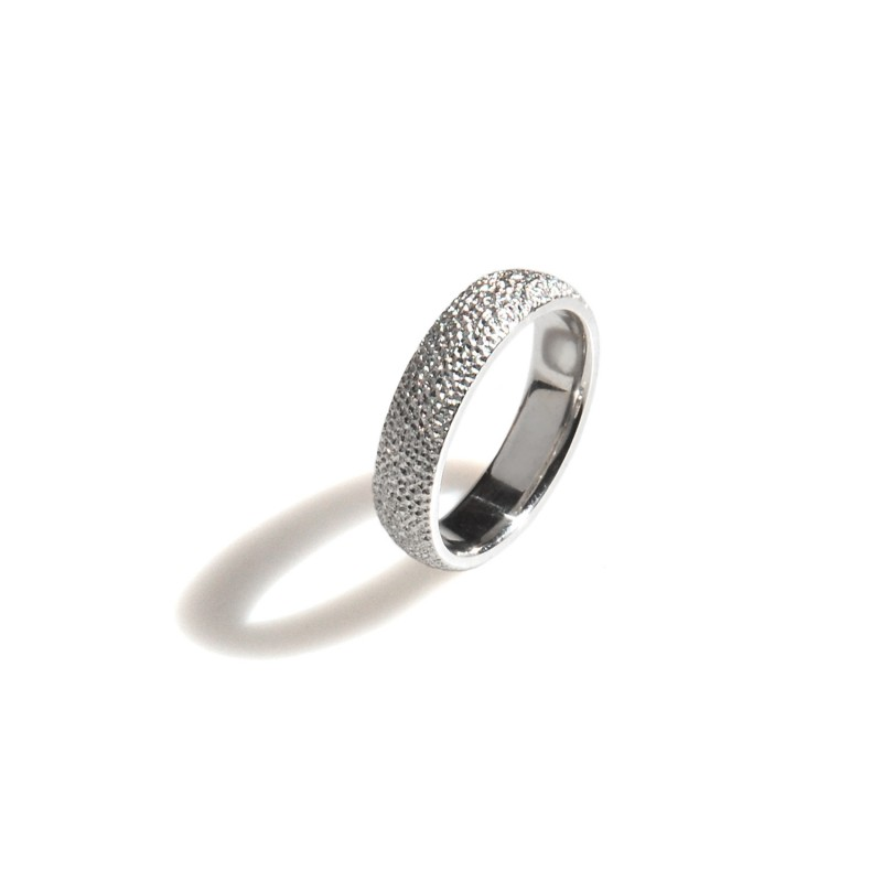 obrączka srebrna Diamond