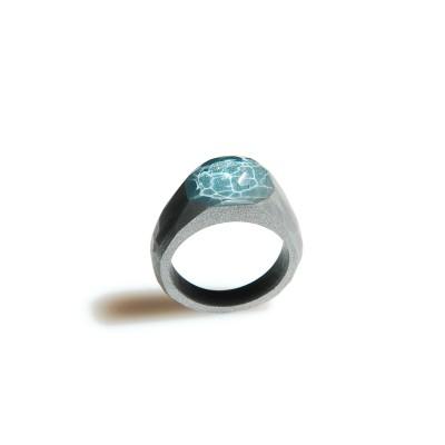 pierścionek AQUA