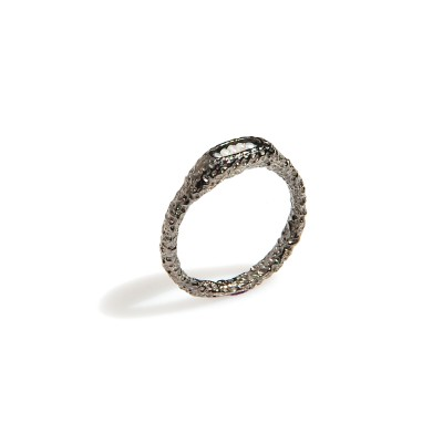 pierścionek srebrny PEARL