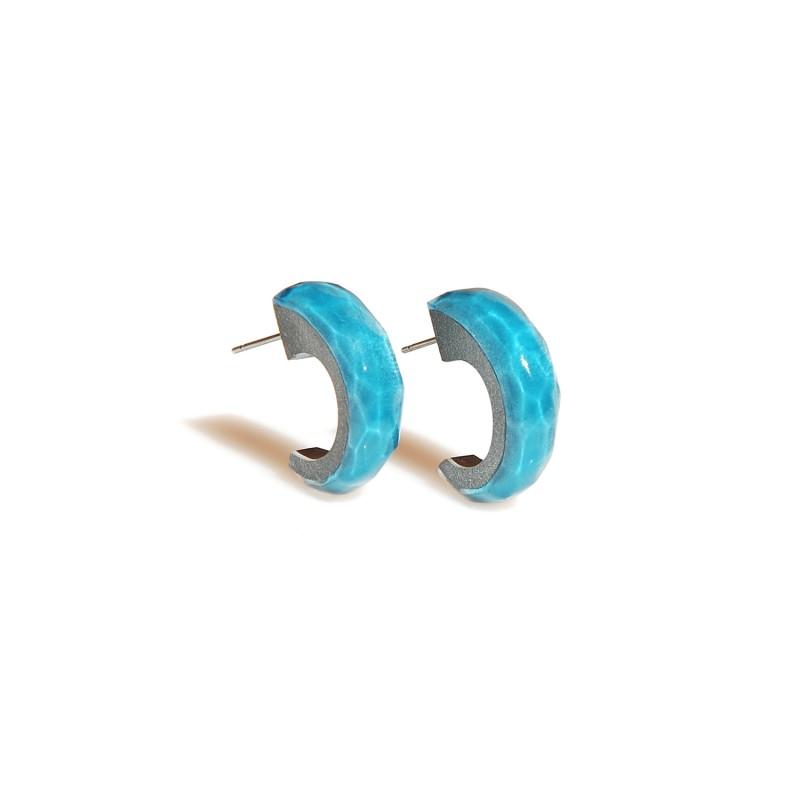 AQUA Hoops Earrings