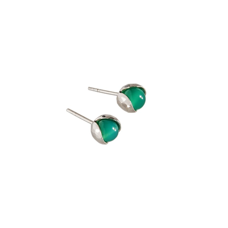 LILY OF THE VALLEY  silver earrings