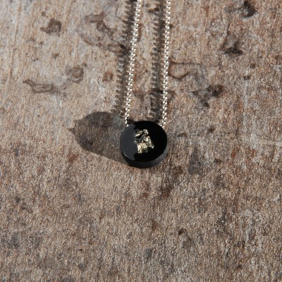 Necklace With Pyrite